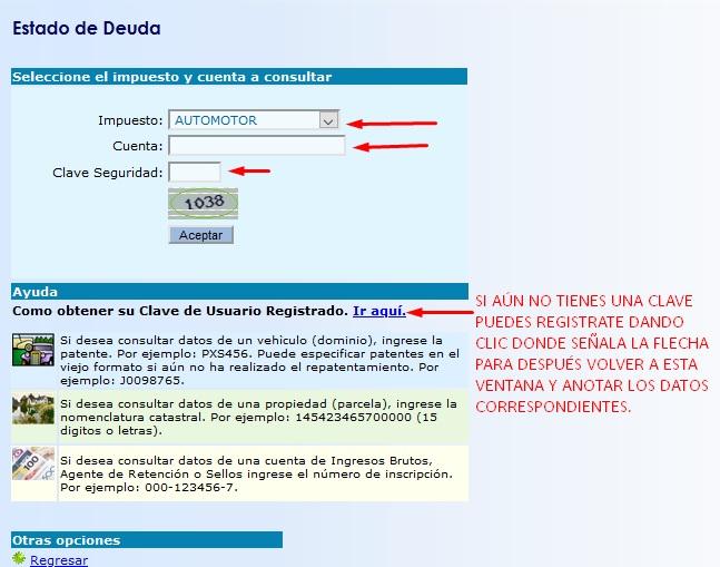 consulta deuda patente automotor san juan